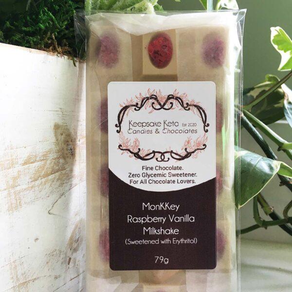 MonKKey Keto Raspberry Vanilla Milkshake Chocolate